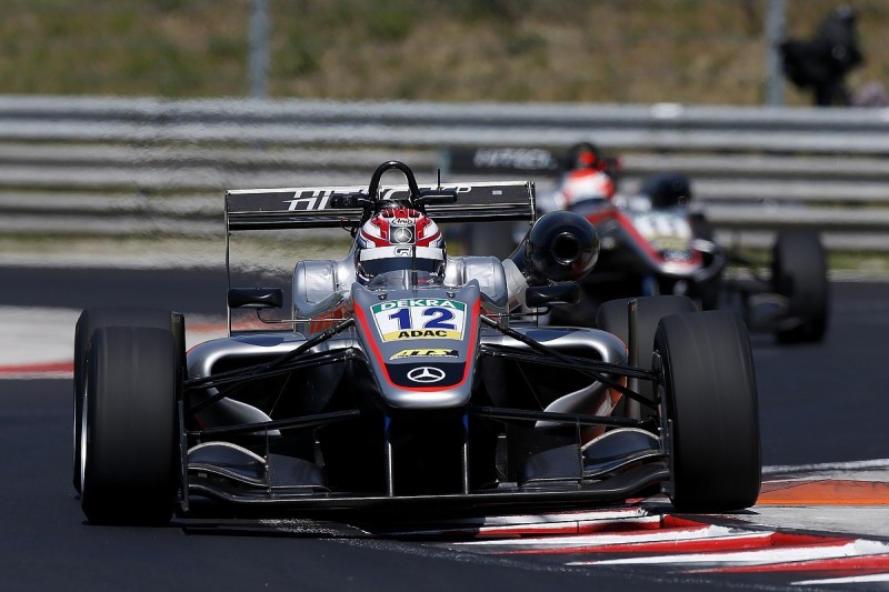 First European F3 pole for George Russell and Hitech GP in Hungary