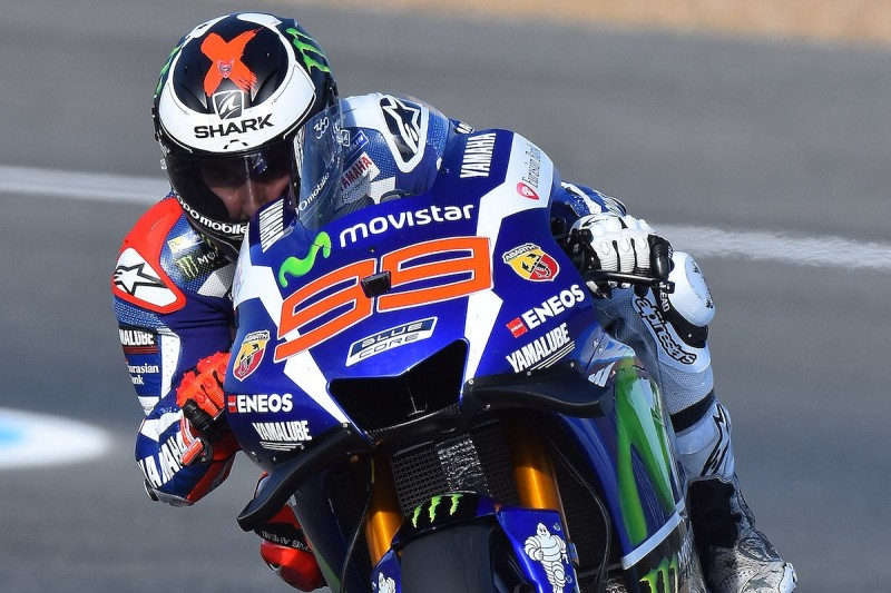 Jorge Lorenzo fastest again with late lap in Jerez MotoGP FP2