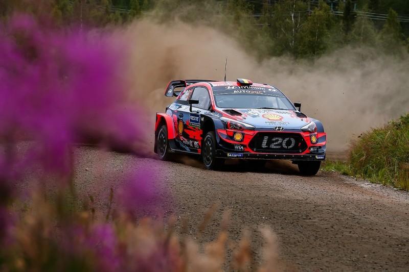 Rally Finland WRC: Neuville in early lead from Toyota's Tanak/Meeke