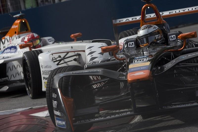 Dragon's Formula E technical partnership with Faraday Future over