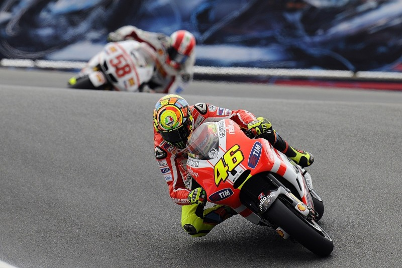 Lorenzo Ducati spell to be more competitive than mine, says Rossi