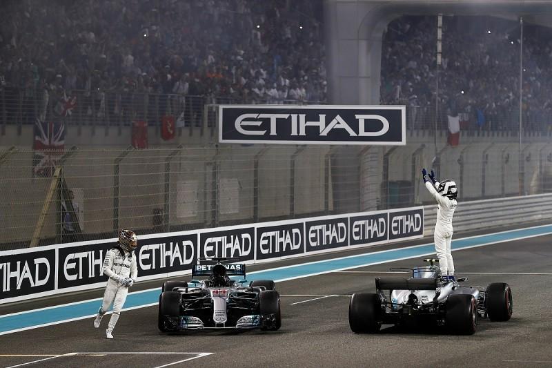 Valtteri Bottas resists Lewis Hamilton to win Abu Dhabi Grand Prix