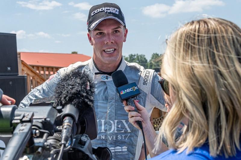 """Ganassi IndyCar test can """"open doors"""" for Indy Lights leader Askew"""