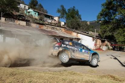 Eric Camilli under pressure from M-Sport WRC team after tough start