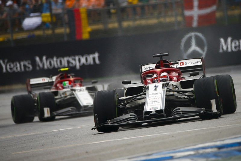 Alfa Romeo F1 team will appeal post-German GP time penalty