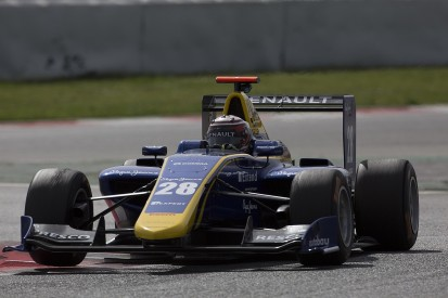 DAMS one-two in final winter GP3 test with Jorg and Hughes