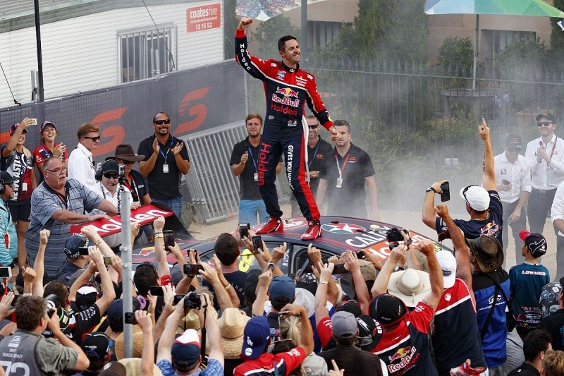 Whincup wins seventh Supercars title as McLaughlin penalised