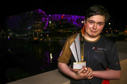 British teenager Brendon Leigh wins Formula 1's first eSports title