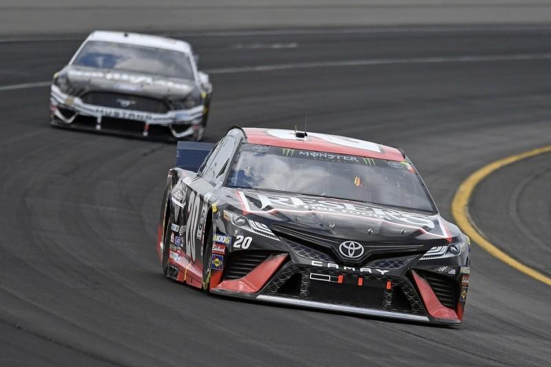"JGR's Jones will ""sleep a lot easier"" after NASCAR playoff boost"