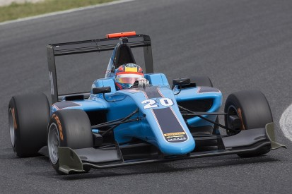 Oscar Tunjo and Charles Leclerc lead GP3 test sessions at Barcelona