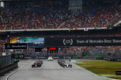 Behind the scenes of Formula 1's first standing restart in Germany