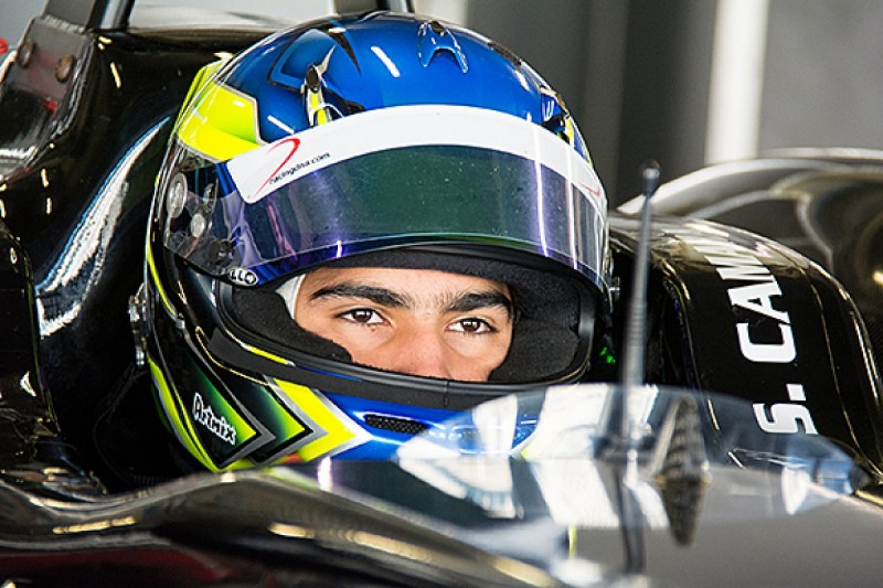 New Red Bull junior Sette Camara sets the pace in F3 Euro test