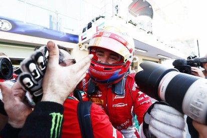 Ferrari junior Leclerc wins F2 finale with a stellar last lap move