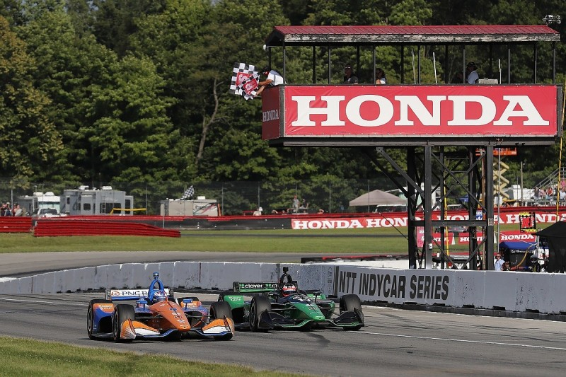 Dixon: Mid-Ohio race proves IndyCar has best racing in the world