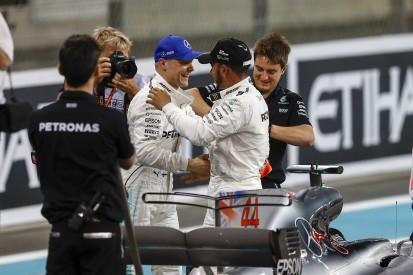 Bottas denies Mercedes F1 team-mate Hamilton Abu Dhabi GP pole