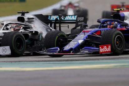 "Albon felt ""almost forced"" into F1 German GP fight with Hamilton"