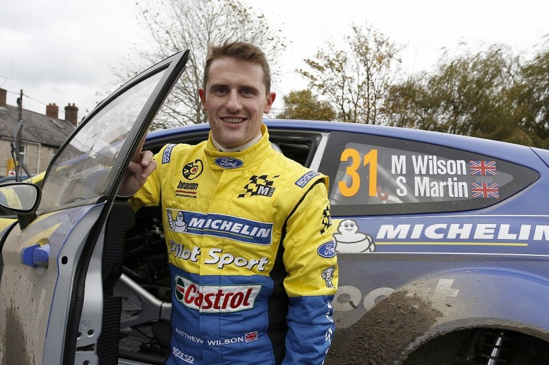 Ex-WRC regular Matthew Wilson returns in British Rally Championship