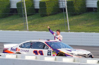 """""""We can win anywhere"""" after Pocono NASCAR Cup Series win - Hamlin"""