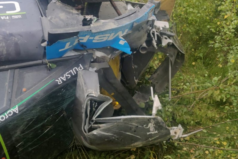 Paddon ruled out of WRC return on Rally Finland after test crash