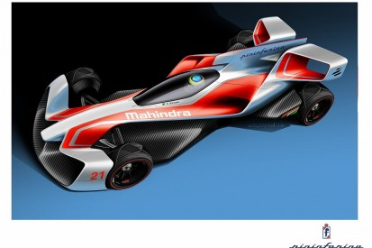 Mahindra reveals Pininfarina-designed Formula E concept cars