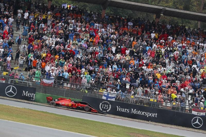 "Leclerc calls German GP runoff surface ""unacceptable"" after crash"