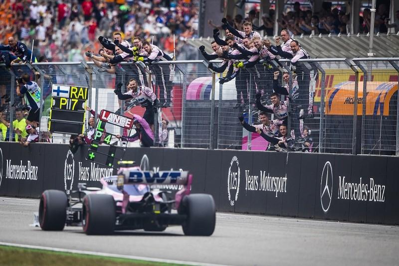 Racing Point's Stroll: Late German GP error cost second F1 podium