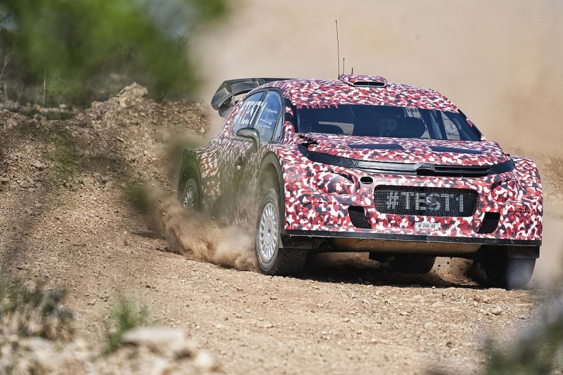 Citroen's all-new C3 for 2017 WRC rules makes trouble-free debut