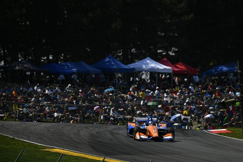 IndyCar Mid-Ohio: Dixon beats Rosenqvist in Ganassi one-two