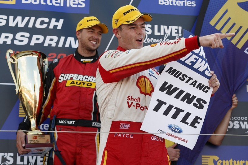 McLaughlin fined for Ford Supercars title celebration on podium