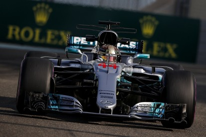 Abu Dhabi Grand Prix: Hamilton leads Mercedes one-two in practice