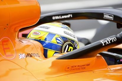 Norris: I let myself, McLaren down for the first time in Germany Q1
