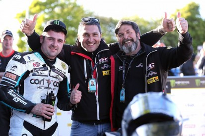 Injured Dunlop makes winning return at Armoy Road Races