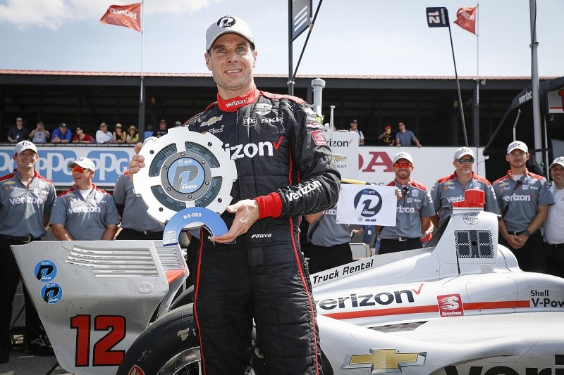 Will Power leaves it late to defeat Rossi for Mid-Ohio IndyCar pole