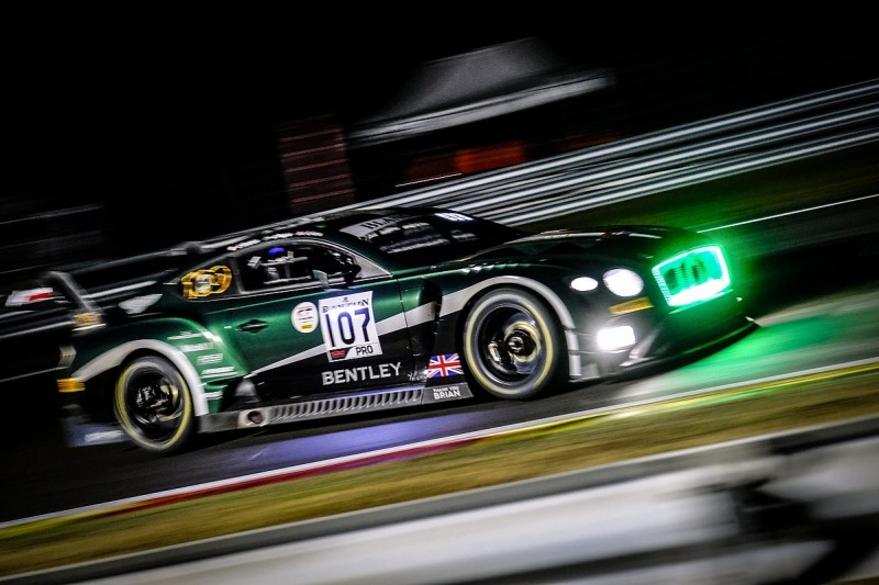 Bentley hits out at the Balance of Performance for the Spa 24 Hours