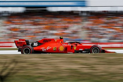 Leclerc tops Germany FP3, Mercedes struggles despite lower heat