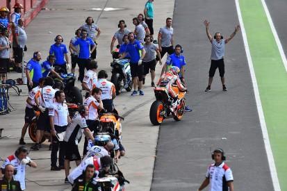 MotoGP riders want pit rule tweaks for flag-to-flag bike swap races
