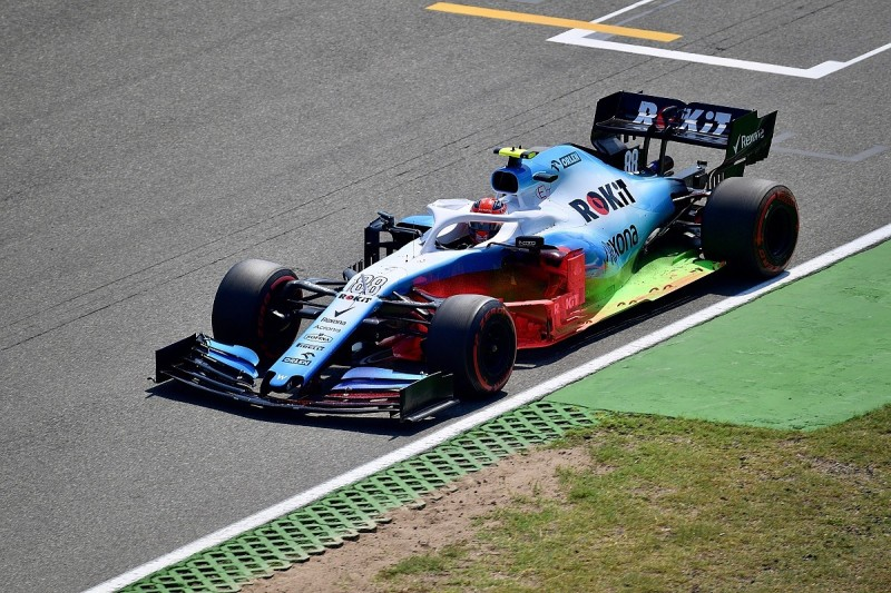 """Kubica thwarted by updates falling off """"fragile"""" Williams in Germany"""