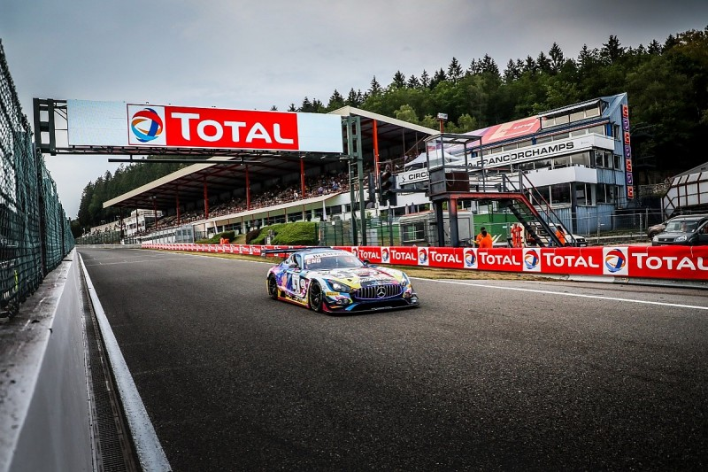 Engel takes 2019 Spa 24 Hours pole for Black Falcon Mercedes