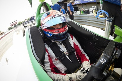 IndyCar Mid-Ohio: Herta tops practice running, Newgarden crashes