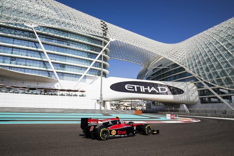 ART's Alexander Albon leads Abu Dhabi Formula 2 practice