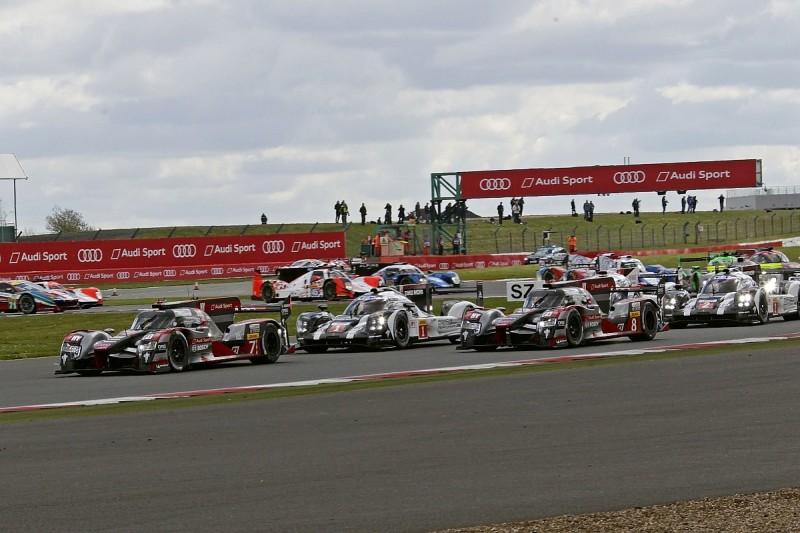 Audi wins dramatic World Endurance Championship race at Silverstone