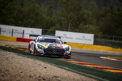 Black Falcon Mercedes on provisional Spa 24H pole in first qualifying