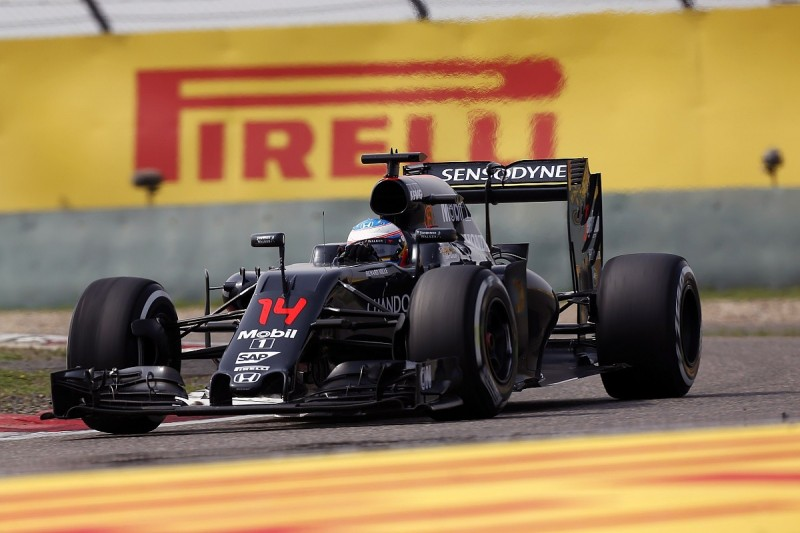 Speed not strategy was McLaren's problem at Chinese GP says Alonso