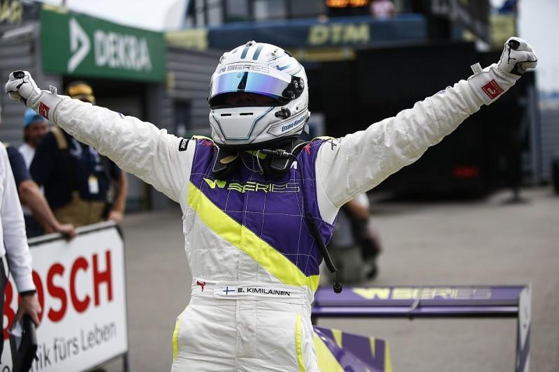 Assen W Series winner Kimilainen: Motherhood has made me better racer