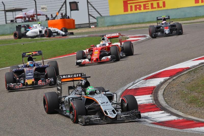 Sainz: Force India F1 team's Chinese GP pitlane antics 'dangerous'