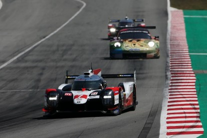 Toyota ends WEC test fastest, but privateer LMP1 teams close in