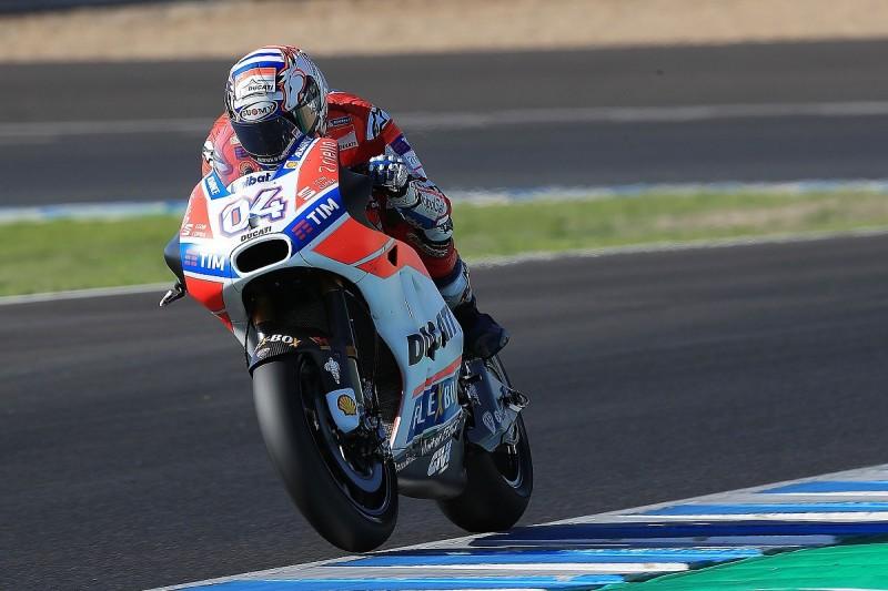 Ducati's Andrea Dovizioso sets record pace in Jerez MotoGP test
