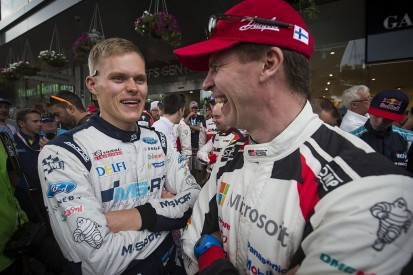 Toyota picked Tanak over Ogier for 2018 World Rally Championship