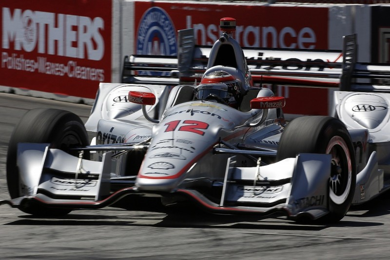 Will Power leads all-Penske top four in Long Beach IndyCar practice