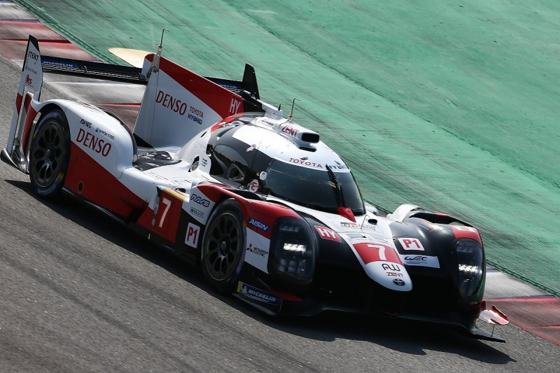 Toyota remains on top on second morning of WEC Prologue test